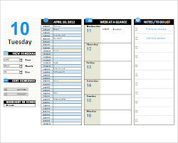 5 Printable Day Planner Templates Doc Pdf Excel Free