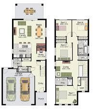 home design floor plans. 4 Bedrooms, 2 Baths, And Double Garage Home Plans Design Floor D