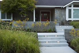 outdoor stair lighting lounge. front steps landscape modern with concrete garden wall indoor stair and step lights outdoor lighting lounge
