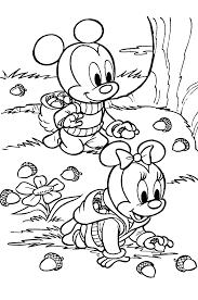 Kleurplaten Van Disney Babys