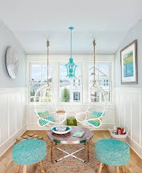 blue hanging chairs for bedrooms. White Rattan Hanging Chairs With Blue Bamboo Pagoda Lantern For Bedrooms