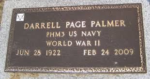 Darrell Page Palmer (1922-2009) - Find A Grave Memorial