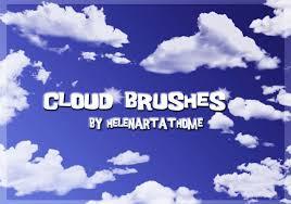 Cloud Brushes Free Photoshop Brushes At Brusheezy
