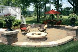 outdoor patio with fire pit this outdoor round patio fire pit vinyl cover