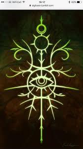 Sigil Of Healing 5644 магический круг татуировки и глифы