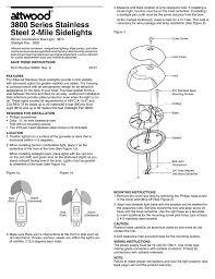 Attwood Bow Light Stless Sidelight Install 69360