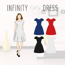 Infinity Dress Pattern Simple The Infinity Dress Shea H X Betabrand