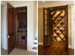 closet wine cellar door