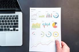 Hd Wallpaper Person Holding Chart And Bar Graph Charts