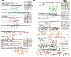 writing equations in point slope form worksheet answers