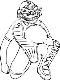 Small Picture Baseball 3 coloring page