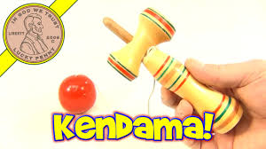 Wooden Ball On String Game Vintage Japanese Kendama Wood Cup and Ball String Toy YouTube 4