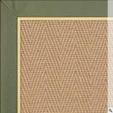 jute rug with olive green cotton herringbone border and gold piping jute rugs the crucial rug