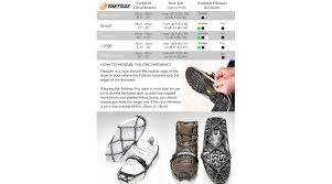 Yaktrax Pro Size Chart Yaktrax Pro Ice Grips For Shoes Family Safety Design Products