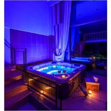 luxury outdoor jacuzzi function acrylic hot tub with balboa system