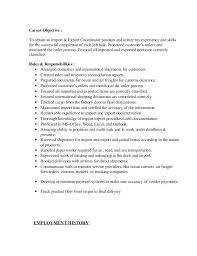 Import Export Resume Best Air Import Export Agent Resume Example ...
