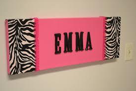 Pink And Zebra Bedroom Pink Zebra Print Bedroom Decor Pink Zebra Girls Room Door Sign