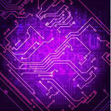 Abstract Hi Tech Electronic Stock Vector Colourbox