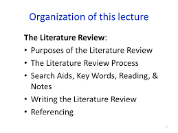 purdue owl apa literature review   format of notice literature review format in apa
