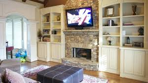 installing flat screen tv over fireplace flat screen