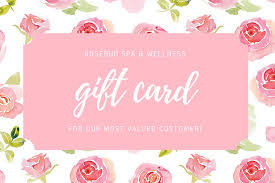 Pink Floral Watercolor Spa Gift Certificate Templates By Canva