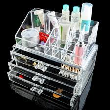 Multi style Drawers jewelry Box Organizer Holder Case Makeup Holder Clear  Acrylic Skin Care Set Display Cabinet EQC347 POK-in Storage Boxes & Bins  from Home ...
