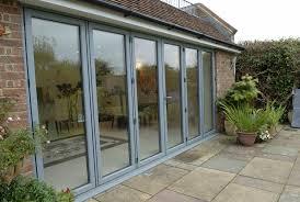 bi fold doors leading to garden