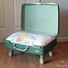 Cat Naps in a Vintage Suitcase