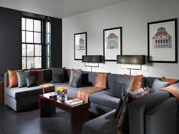 Best Living Room Color Schemes Gray