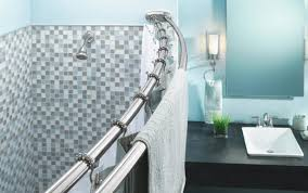 tub nickel target black curtain holders clawfoot height rod brackets beige chrome looking cove double bino