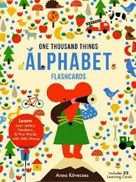 Little Mouses Alphabet Flash Cards Anna Kovecses