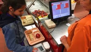 Image result for school lunch cashier