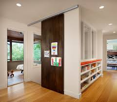 north peak contemporary hall austin by furman keil architects inparable sliding hanging doors closet ceiling