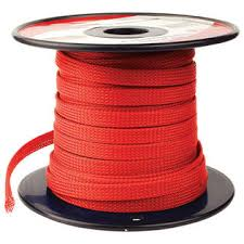 nippon power red 1 4 100ft braided expandable flex sleeve wiring nippon power nippon power red 1 4 100ft braided expandable flex sleeve wiring harness loom