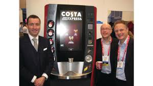 Costa Vending Machine Delectable Beverages Take Vending To The Digital Age VendingMarketWatch