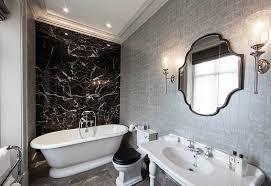 Black And White Bathroom Designs Custom Decorating Design