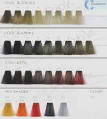 20 Best Goldwell Color Images Color Goldwell Color Chart