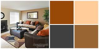 Orange Color Living Room 8 Easy Breezy Earth Tone Palettes For Your Apartment