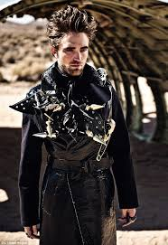 leather and studs robert pattinson channels the dark side in a new edgy pictorial for