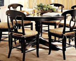 kitchen table round impressive country dining table set with rustic khaki cushion pads pertaining to