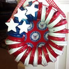 patriotic wreaths for front doorDIY Patriotic Wreath Ideas for 4th of July or Memorial Day  Hative