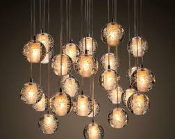 chandelier glass best of ecolight modern lamps led pendant chandelier lights