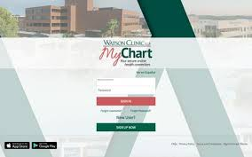 Watson Clinic My Chart Healthcare Medical Pages Website Inspiration And