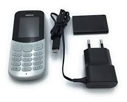 Nokia 130 Dual-SIM, Farbe:Grau Handy ...