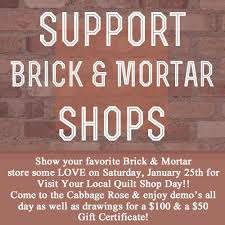 Cabbage Corner: Support Brick & Mortart Quilt Shops with Visit ... & I know that anyone and everyone who is lucky enough to have live near an  independently owned, brick and mortar quilt shop can't imagine life without  one! Adamdwight.com