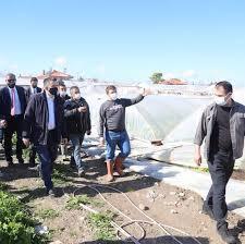 Bakan Bekir Pakdemirli Urla'yı ziyaret... - İzmir'de Son Dakika