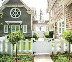 Front Gate Ideas Picket Fence Front Gate Picket Fence Front Gate