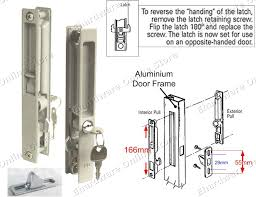 changing a sliding glass door lock saudireiki