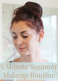 easy summer makeup routine