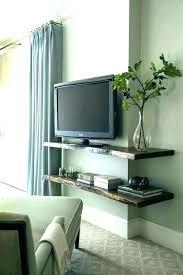 floating shelves under wall mounted shelf for tv compact unit white floating cabinet under shelf